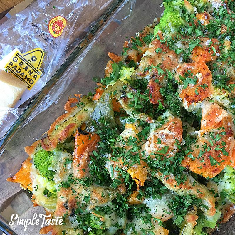 Brokkoli-Paprika-Auflauf
